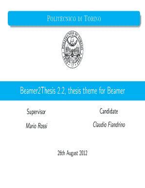 Thesis pup pdf